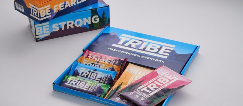 TRIBE packaging